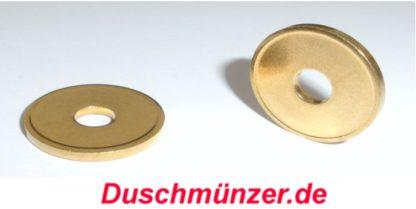 10 x Duschmünzen Wertmarken Duschmarken Ø 21 x 2,2mm Duschmünzer (3)