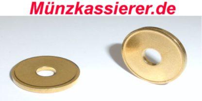 10 x Wertmarken Jetons Token Duschmarken Wh Münzprüfer Ø 21 x 2,2mm (4)