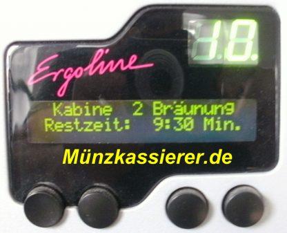Ergoline MCS IV PLUS Münzkassierer Solarium