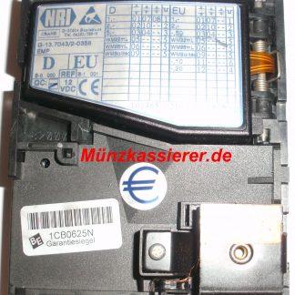 Beckmann EMS 335 Teile Münzprüfer NRI G-13.7043/2-0358 EMP