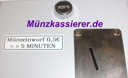 Münzautomat Münzkassierer DUSCHE 24V 50Cent