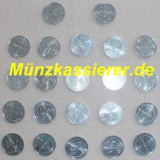 10 x Münzen Wertmarken Ø 26 x 2,7mm. Münzkassierer MKS63