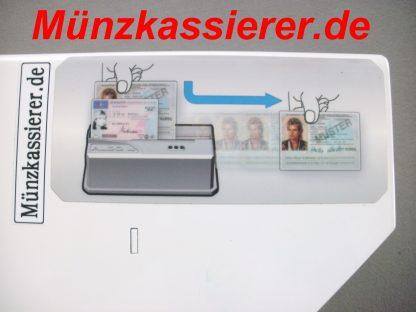 Beckmann EMS335 EMS 335 Edelstahl m. Dokumentenprüfer