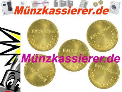 Münzkassierer 5 x orig. MIELE WERTMARKEN T 1699350