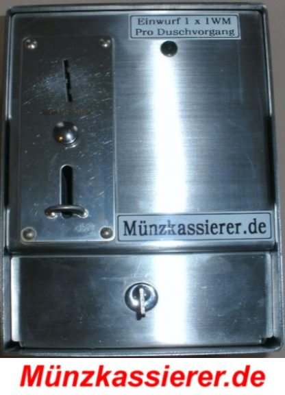 Münzkassierer DUSCHE Duschmünzer