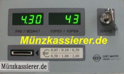 Münzkassierer Kopierer Münzkopierer COPY MASTER CM2060