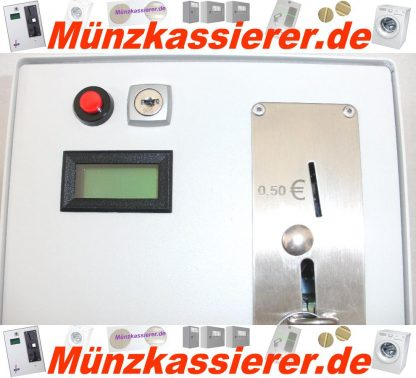 Münzkassierer Waschmaschine Kassiergerät Türentriegelung