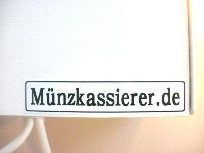 Münzkassierer mit Wertmarken 25 x 2 1 & 2 Rillen WM25 PD25