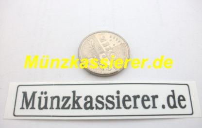 10 x Münzen Wertmarken Ø 26 x 2,8mm. Münzkassierer MKS68