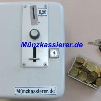 Münzkassierer Münzautomat DUSCHE 24V 50Cent