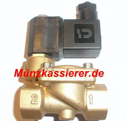Magnetventil DUSCHE Münzautomat Münzkassierer 24Volt AC ~
