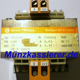 TRAFO Transformator Netzteil 230VAC 24VAC 80VA Kleinspannung