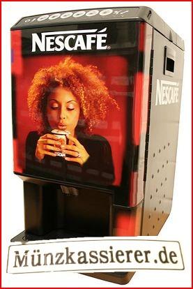 Nescafe Business Star Kaffeemaschine Ersatzteile Kasse Münzkassierer