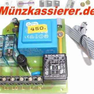Netzplatine Platine Münzautomat Beckmann Ems 100