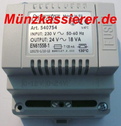 Transformator Trafo 230VAC 24V AC ~ 18VA Kleinspannung